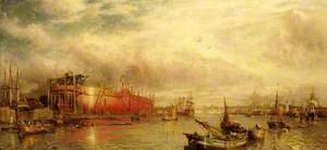 Building the 'Great Leviathan' (the 'Great Eastern')