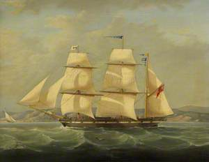 The Barque 'Henry Hood'