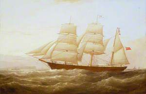 The Barque 'J. P. Smith'