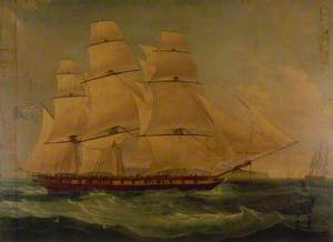 The East Indiaman 'Providence'