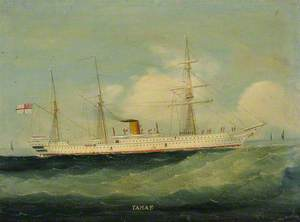 The Troopship HMS 'Tamar'