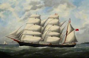 The Barque 'Victoria'