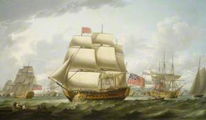The 'Victory' Sailing from Spithead