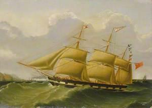 The Barque 'William Fisher'