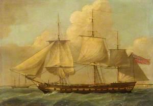 The Indiaman 'Britannia'