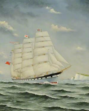 The Barque 'Cambrian King'