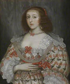 An Unidentified Young Lady of the Time of Charles I