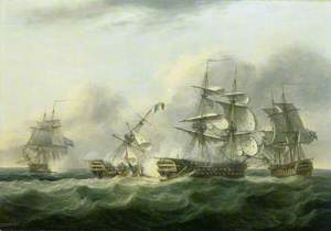 The Capture of the 'Guillaume Tell', 30 March 1800