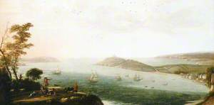 A View of Falmouth Harbour, c.1678