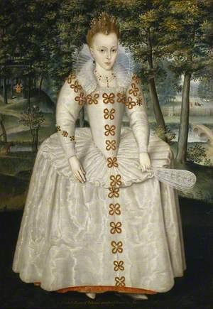 Princess Elizabeth (1596–1662), (Elizabeth of Bohemia, the 'Winter Queen'), Aged Seven
