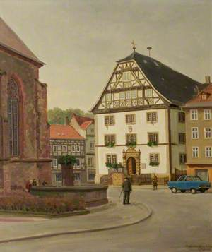 Rothenburg Town Hall, Germany