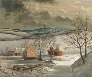 Zell's Farm, Winter, Hampshire