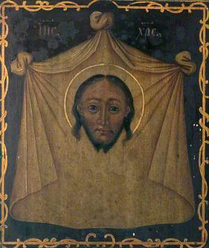 Head of Christ on a Cloth