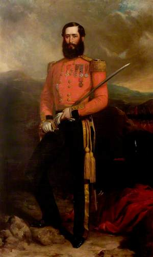 Colonel Gerald Littlehales Goodlake (1832–1890), Coldstream Guards (1857)