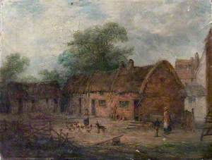 Farmyard Scene, Sutton-in-Ashfield, Nottinghamshire*