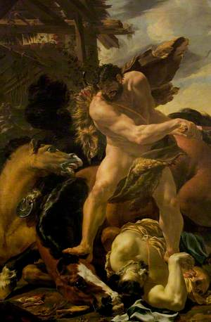Hercules Vanquishing Diomedes