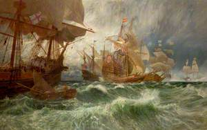 The Summons to Surrender (An Incident in the Spanish Armada)