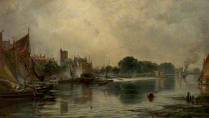 The Thames at Chiswick, London