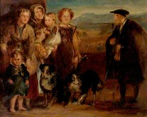 A Highland Family