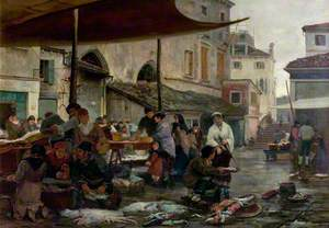 The Fish Market, Venice