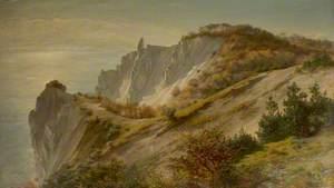 Autumn View of Møns Cliff, Denmark