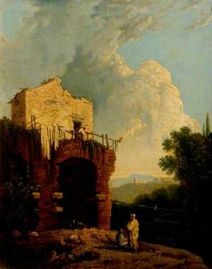 Ruins of a Villa near Rome (Hadrian's Villa)