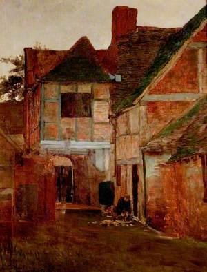 An Old Posting Yard, Surrey