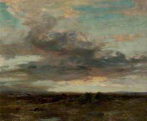 The Argyllshire Moor, Sunset