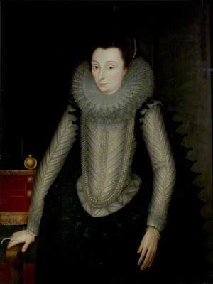 Portrait of a Lady Called 'Countess of Nottingham' (c.1547–1603) (Catherine Carey)