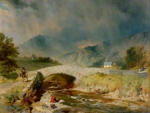 Stormy Weather near Ambleside, Cumbria