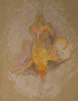 Study of a Fowl for 'Highland Raiders'