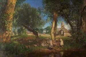 The Tithe Barns