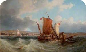 Shipping off North Yarmouth