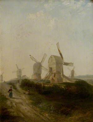 Windmills on Nottingham Forest
