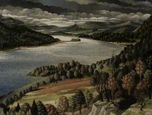 The Hudson from Bear Mountain Bridge, USA
