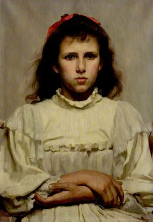 Girl with a Red Bow