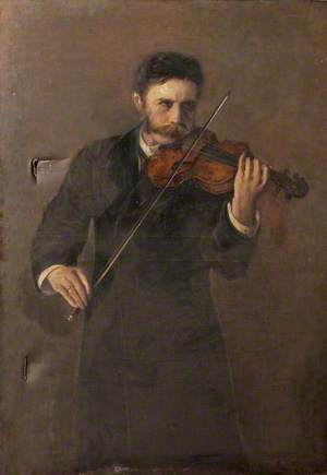 An Earnest Movement in Andante (Charles Heywood, Violinist)