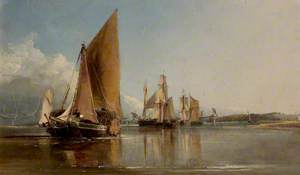 Boats Entering the Medway