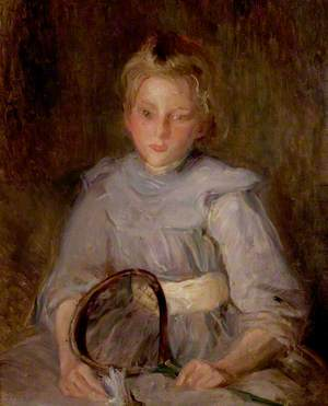 A Girl with a Racquet