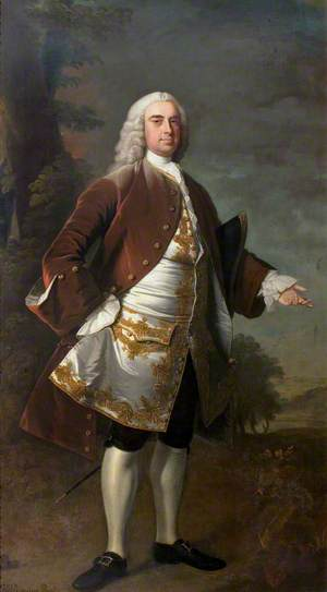 Sir Wolstan Dixie (1700–1767), 4th Bt, Market Bosworth