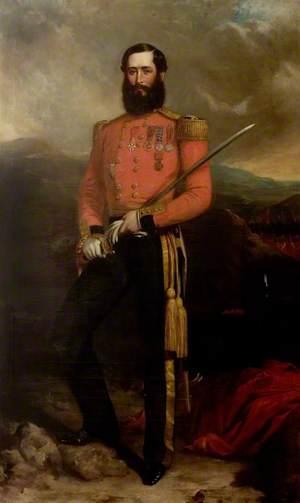 Colonel Gerald Littlehales Goodlake (1832–1890), Coldstream Guards (1857)