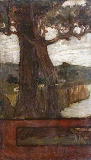 Tree, Idylls of the King (left panel)
