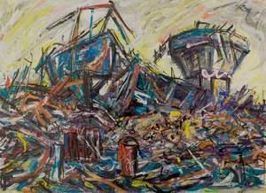 Rufford Colliery Demolition