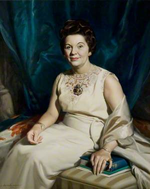 Alderman Mrs Anne Yates, CBE, JP, Chairman of the County Council (1968–1974)