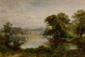Newstead Abbey, Nottinghamshire, View from the Lake