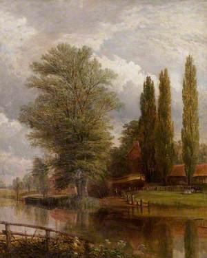 Flint's Dockyard, Newark, 1850