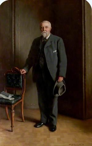 Thomas William Denman, Esq., JP, Town Councillor (1866–1871), Alderman (1878–1905), and Mayor of East Retford (1883–1884)