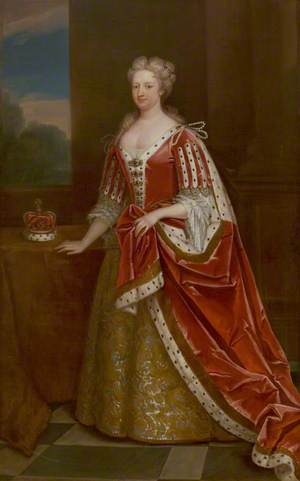 Caroline Wilhelmina of Brandenburg-Ansbach (1683–1737), Consort to George II