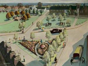Ruddington Village Green, Nottinghamshire, c.1960