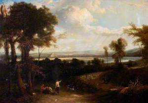 View of Nottingham from Clifton (South Prospect of Nottingham Castle)
